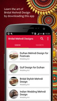 Bridal Mehndi Designs apk screenshot