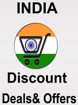 """Deals And Discount Offers """"INDIA"""" poster"""