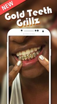Gold Grillz Photo Editor poster