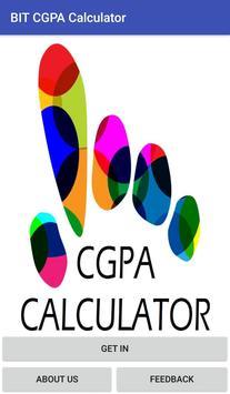 BIT CGPA Calculator screenshot 2