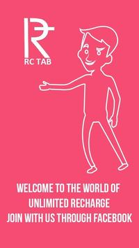 RC TAB free recharge daily poster