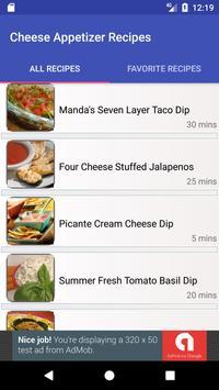 1000 Cheese Appetizer Recipes apk screenshot