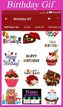 Birthday Gif poster
