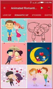 Animated Romantic Love Gif Ekran Görüntüsü 2