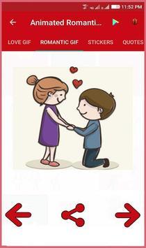 Animated Romantic Love Gif screenshot 3