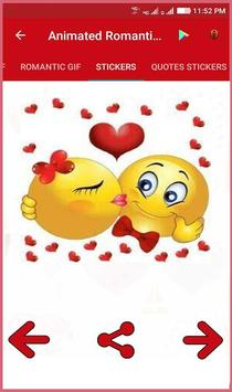 Animated Romantic Love Gif screenshot 4