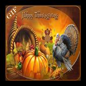 Thanksgiving Gif icon