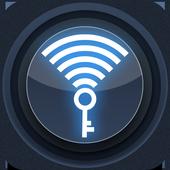 Wifi password hacker simulator icon