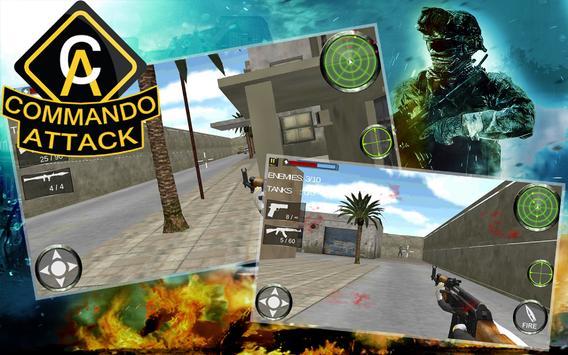 Commando Attack 3D apk screenshot