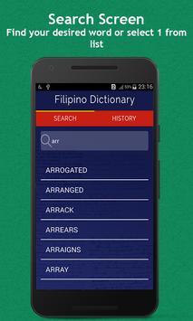 Filipino Dictionary poster