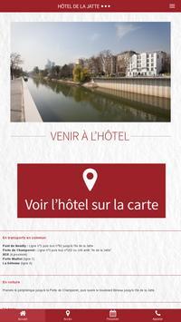 Hôtel de La Jatte apk screenshot