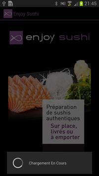 Enjoy Sushi poster