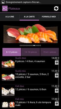 Enjoy Sushi screenshot 2