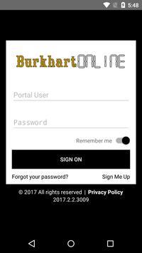 Burkhart Insurance poster