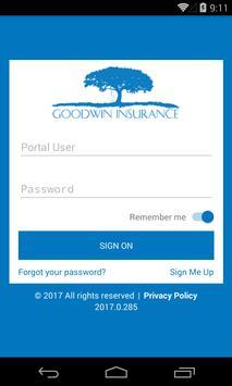 Goodwin Insurance poster