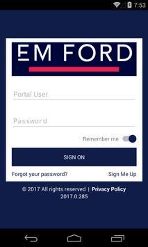 EM Ford poster