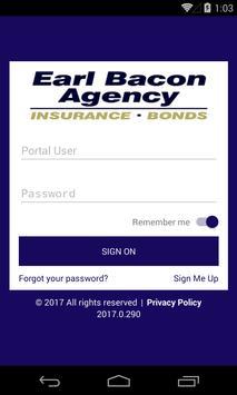 Earl Bacon Agency, Inc. poster