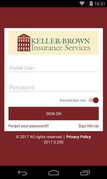 Keller-Brown Insurance Service poster