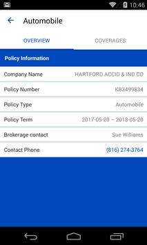 MIG Insurance - My Account screenshot 1