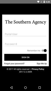The Southern Agency poster