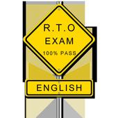 RTO Exam English - Driving Licence Test icon