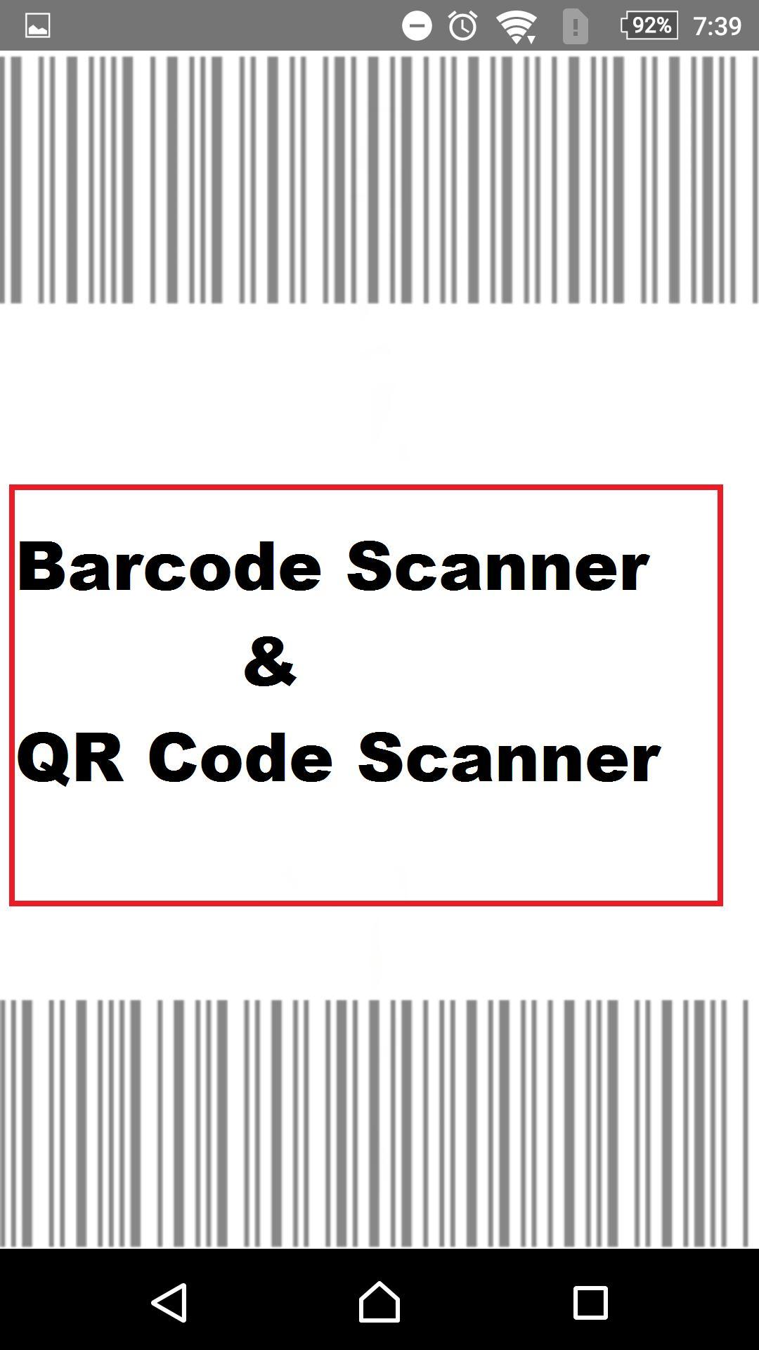 QR Code Scanner online & Barcode Scanner for Android - APK