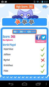 PowerVocab Word Game apk screenshot
