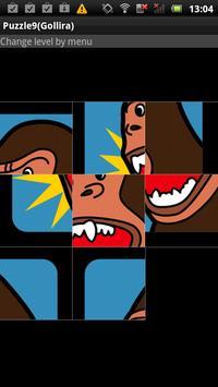 Puzzle9(Gorilla) poster