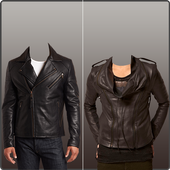 Leather Coat Man Photo Suit icon