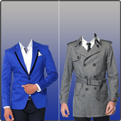 Man Suit Photo Montage icon