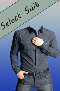 Man Shirt Photo Suit apk screenshot