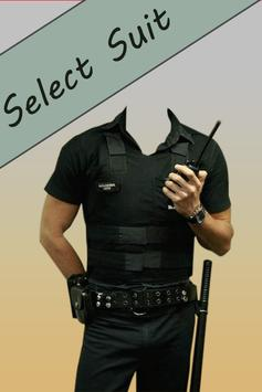 Police Suit Photo Maker screenshot 3