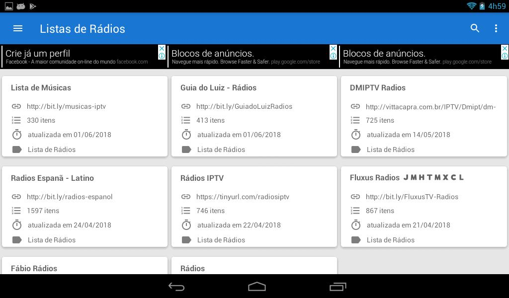Free IPTV Lists: Free and Updated iptv List for Android - APK Download
