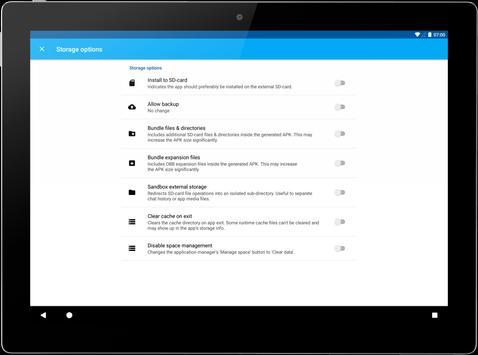 App Cloner imagem de tela 10