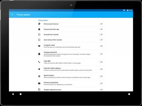 App Cloner imagem de tela 11