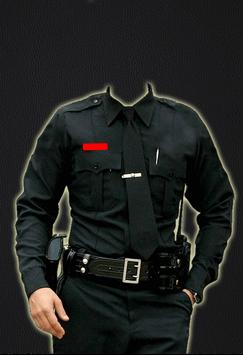 Police Suit Photo Maker poster