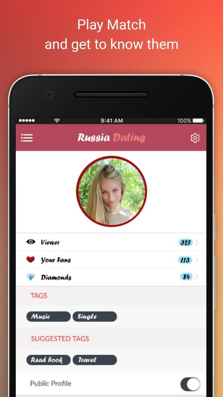 Live chat and dating app