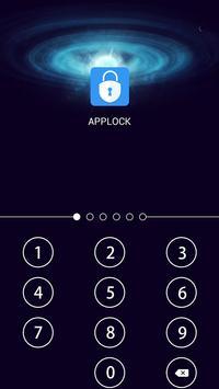 AppLock Theme Universe screenshot 5