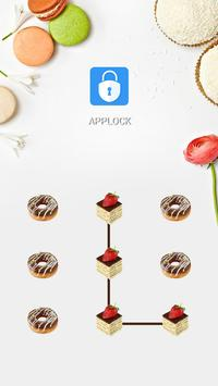 AppLock Theme Delicious Cake poster