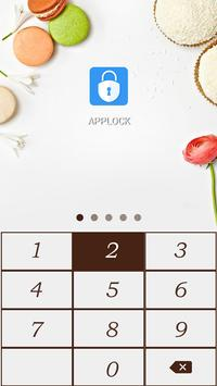 AppLock Theme Delicious Cake screenshot 1