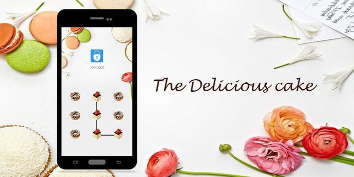 AppLock Theme Delicious Cake screenshot 3