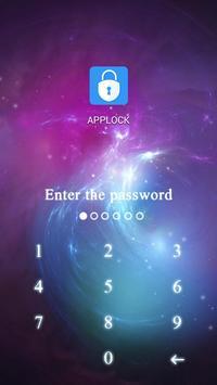 Applock theme Dream Sky screenshot 1