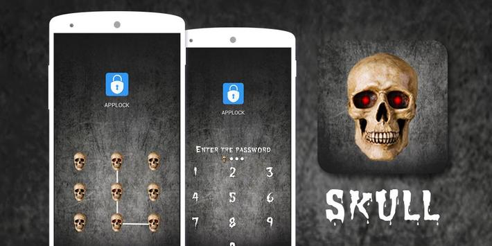AppLock Theme Horror Skull screenshot 3