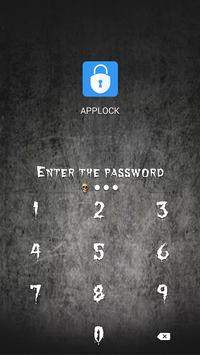 AppLock Theme Horror Skull screenshot 5