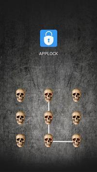 AppLock Theme Horror Skull screenshot 8