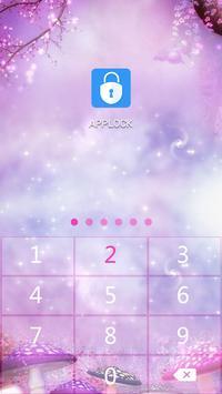 AppLock Theme Magical Forest screenshot 5