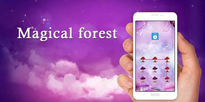 AppLock Theme Magical Forest screenshot 7