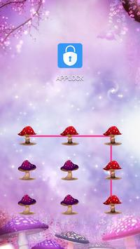 AppLock Theme Magical Forest poster