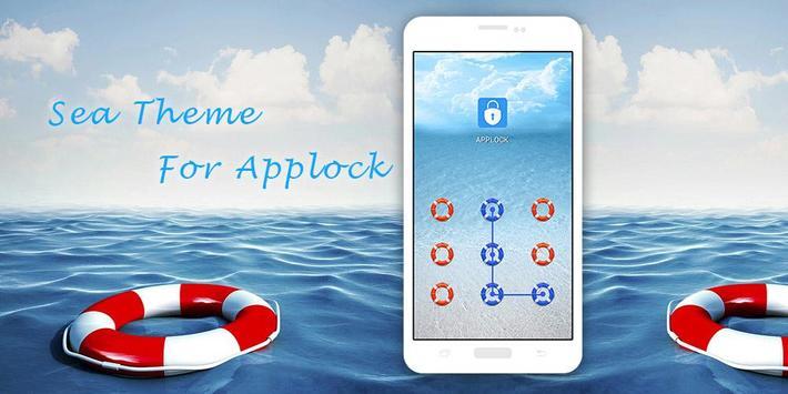 AppLock Theme For Sea screenshot 3