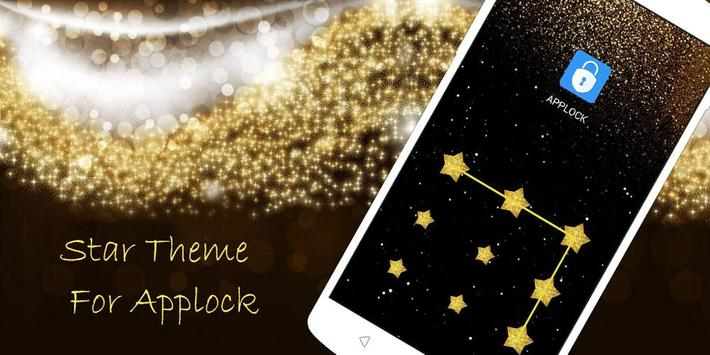 AppLock Theme Star apk screenshot